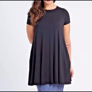 Agnes and Dora - large cap sleeve swing tunic